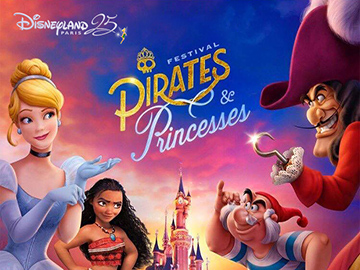 Pirates and Princesses Festival Disneyland Paris