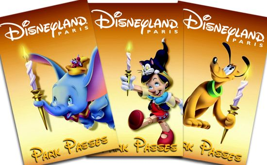 Disneyland Paris - Park Passes