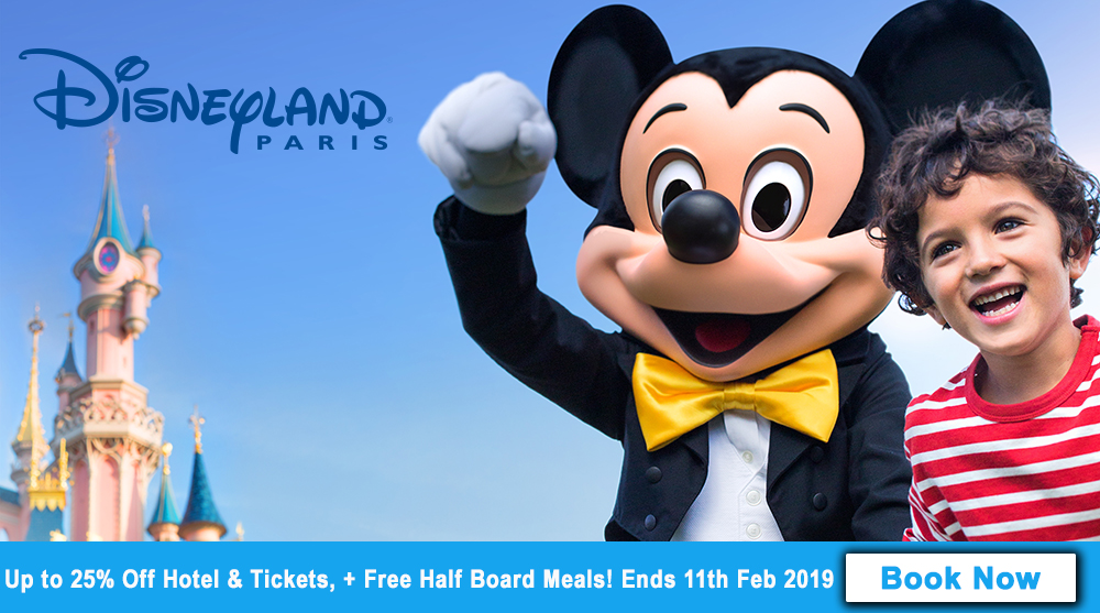 Disneyland Paris Spring Summer 2019 Offer