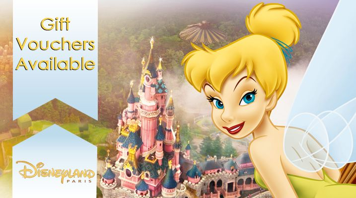 Disneyland Paris - Gift vouchers available