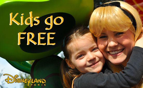 Disneyland Paris - Kids stay and play free