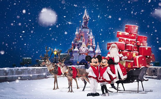 Disneyland Paris Christmas season
