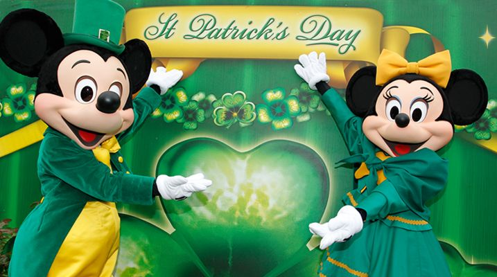Disneyland Paris St Patrick festival celebration