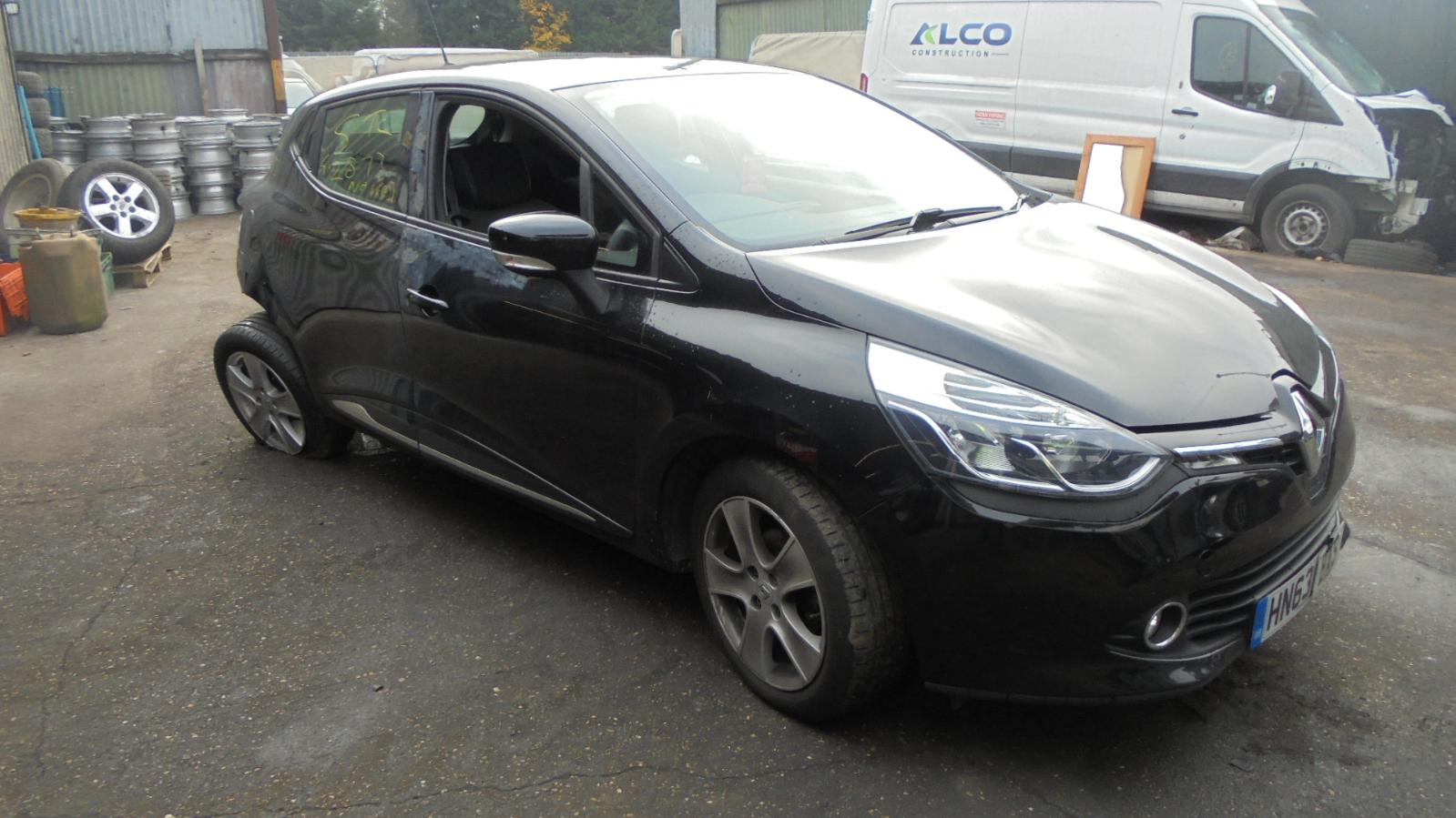 Renault-Clio-Right-O-S-wing-mirror-electric-power-folding-painted-black