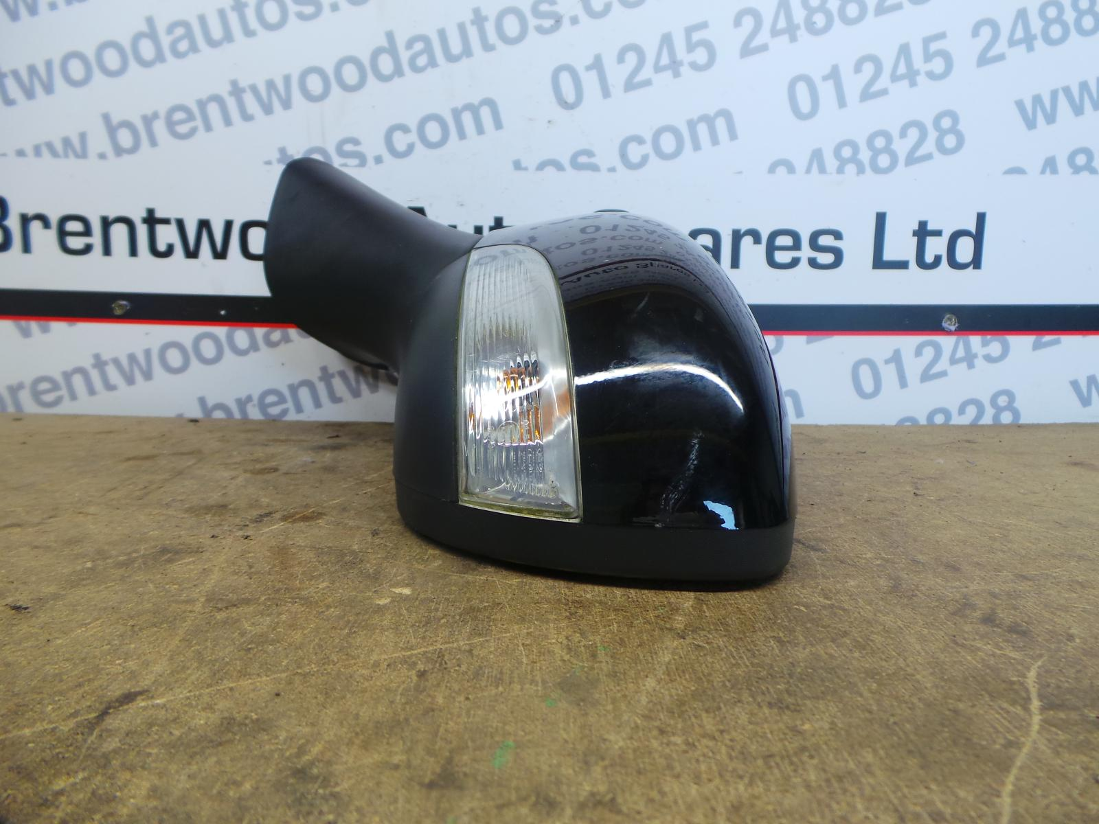 Renault-Clio-2013-Left-N-S-wing-mirror-electric-power-folding-painted-black