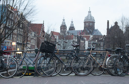 Amsterdam, city of bicycles