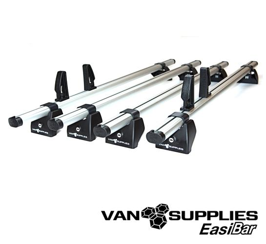 4x EasiBar Van Roof Bar System, stockcode:RB061-4