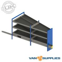 Ford Transit Custom SWB Vantage Metal Van Racking Storage System - Kit 2,stockcode:VSVKL1-K2