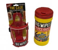 Big Wipes Heavy-Duty + The Cage Wall & Van Bracket,stockcode:VSA0025