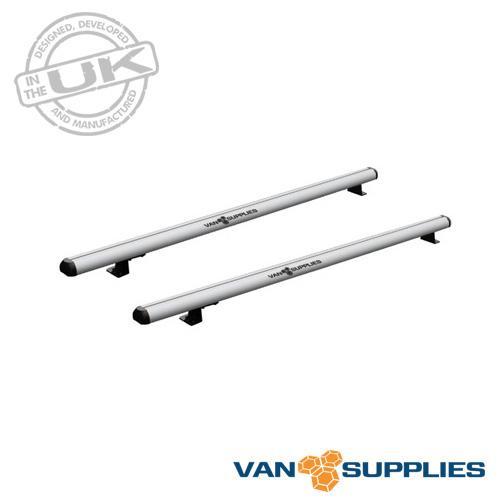 Ford Transit Roof Rack 2x Aluminium Bars H2 H3 Van Supplies