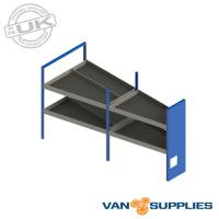 Ford Transit Custom SWB Vantage Metal Van Racking Storage System - Kit 1,stockcode:VSVKL1-K1
