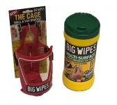 Big Wipes Multi-Surface + The Cage Wall & Van Bracket,stockcode:VSA0026