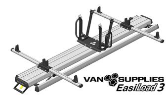 EasiLoad 3 2.4m Double Van Ladder Assisted Load System,stockcode:EL3-DBL-24-VG