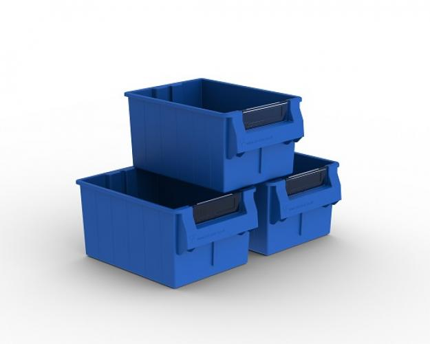EasiStor Storage Bins x 3 (To Fit 830mm Units), stockcode:UMB355-3