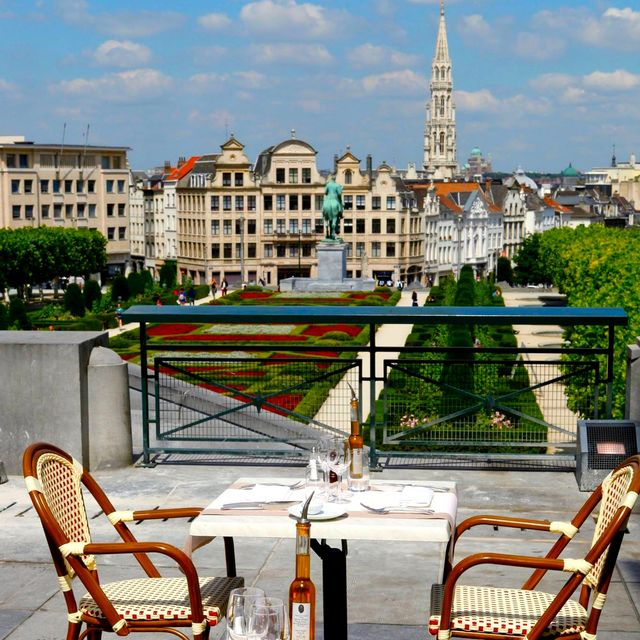 8 chic terraces in Brussels