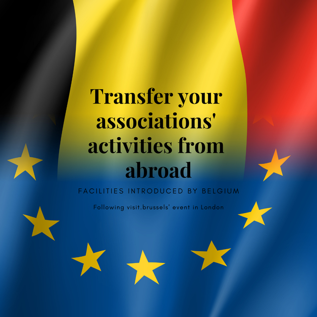 Belgium introduces facilities for the transfer of associations' activities from abroad