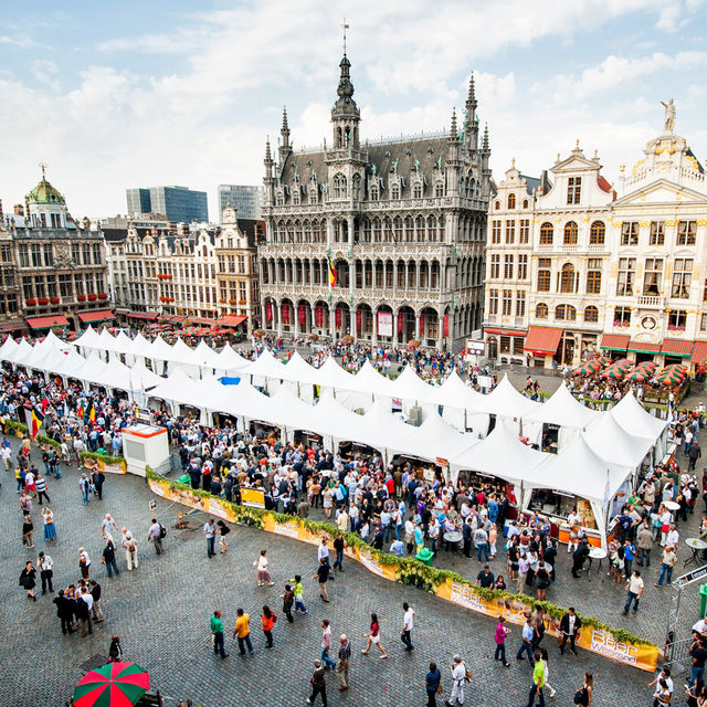 Bierfestivals in Brüssel