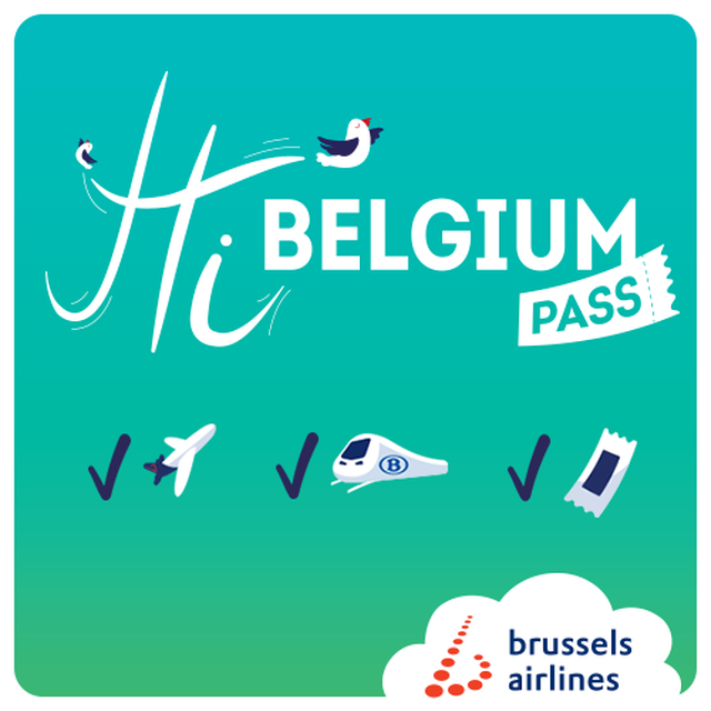 In late April, SN Brussels Airlines launched a new product, the 'Hi Belgium ! Pass'.