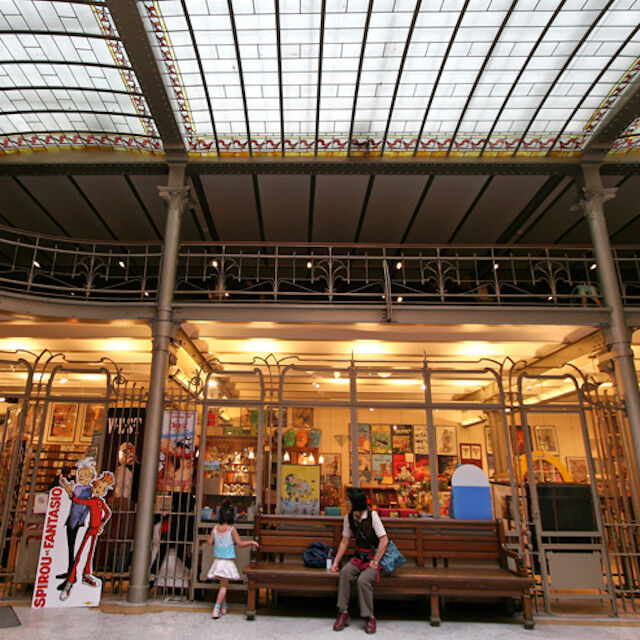 Comic strip bookstores and pop-culture shops in Brussels