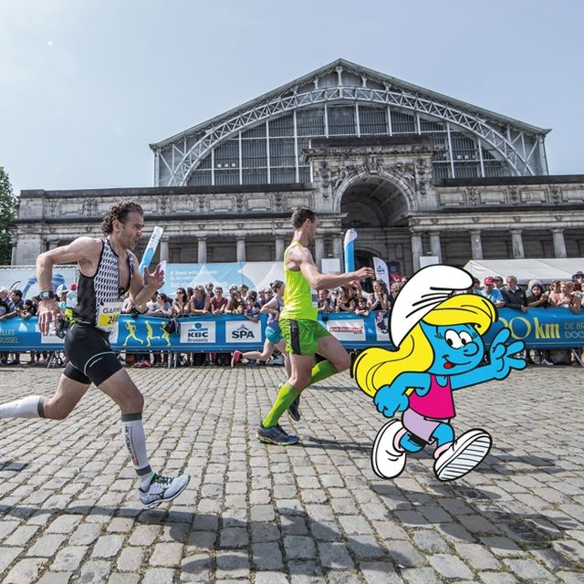 Join the 20km of Brussels, dressed as a Smurf