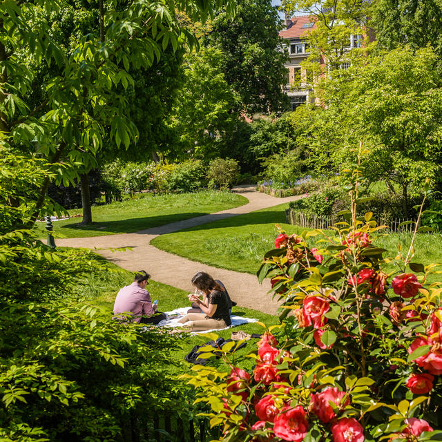 5 secret parks and gardens in Brussels