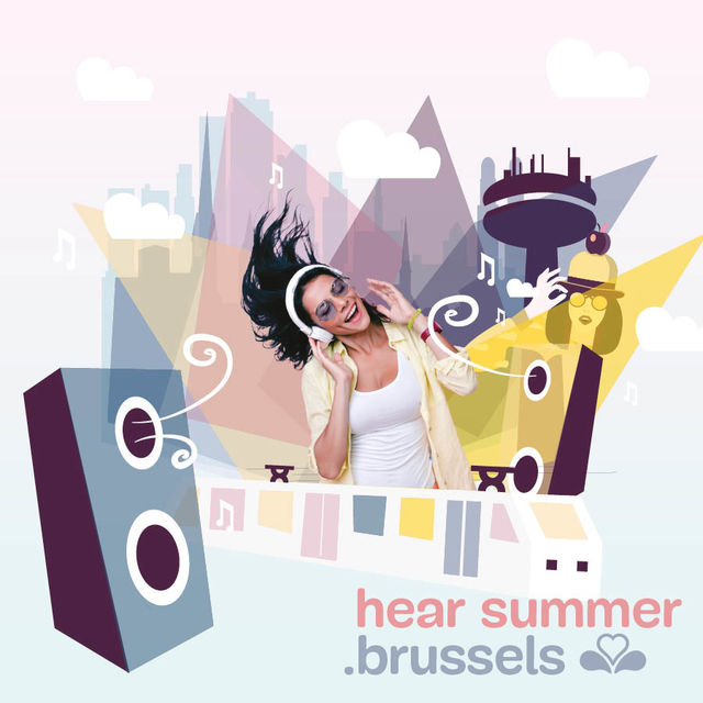 Enjoy the sound of summer in Brussels