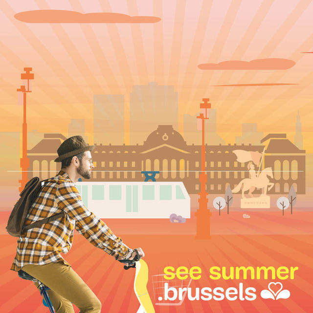Brussels is a feast for the eyes this summer