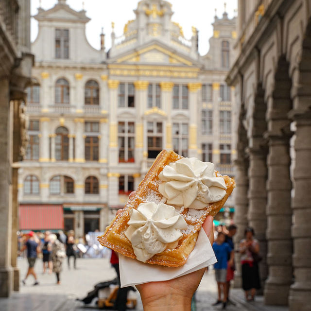 Everything you need to know about waffles in Brussels!