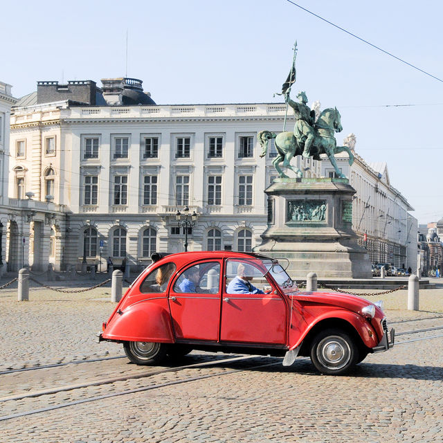 Discover Brussels On Wheels