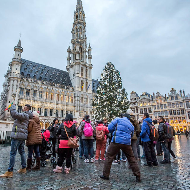 Guided tours in Brussels this winter