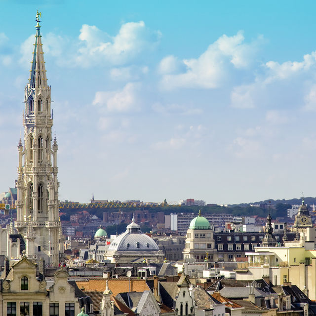 1,000 years of Brussels: legends & history