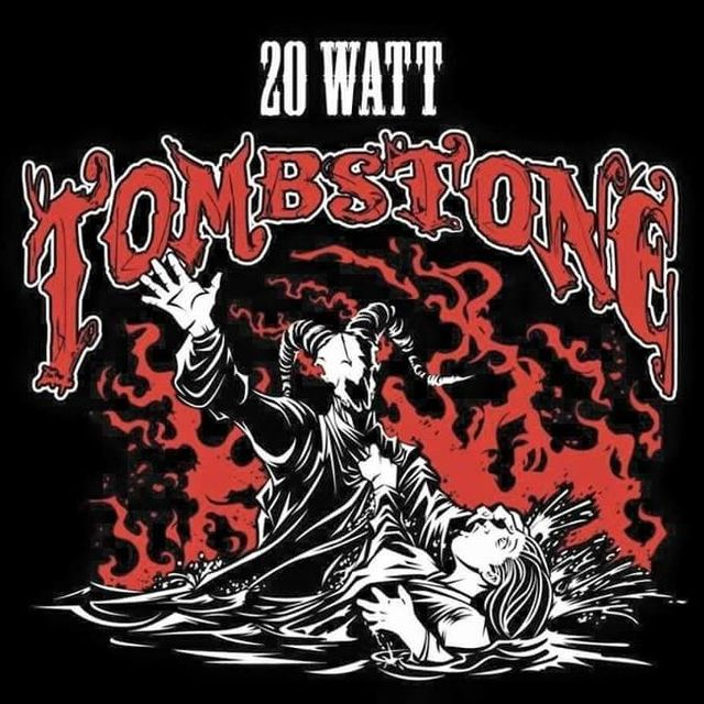 20 watt tombstone + big horse