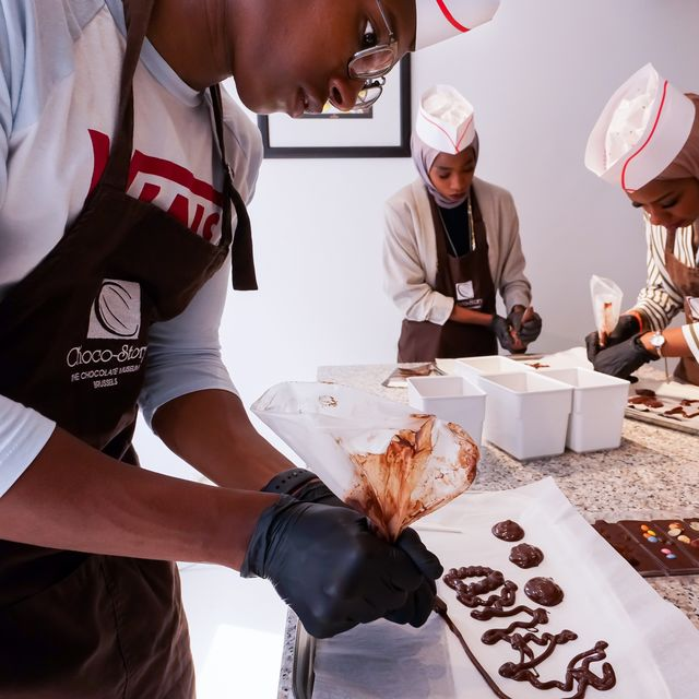Chocolate Workshop :: © Choco Story Brussels
