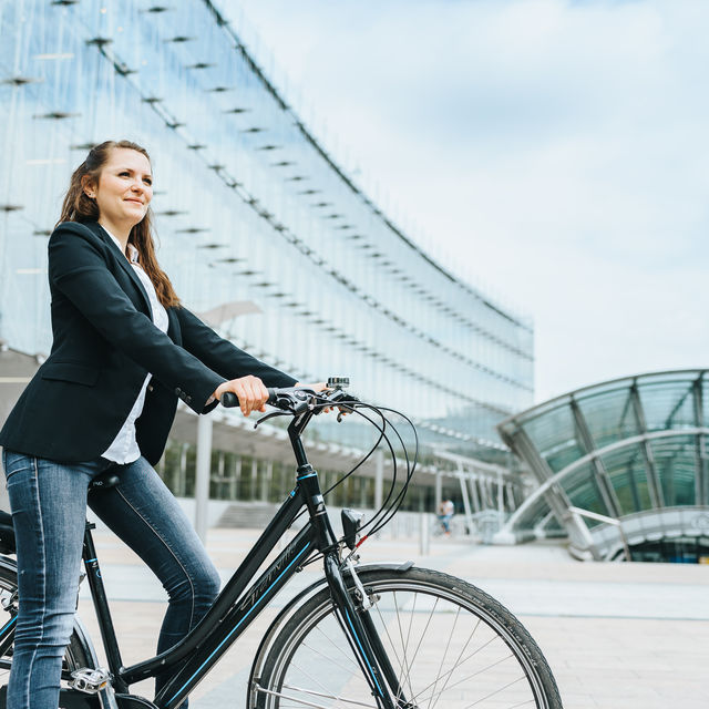 Bruselas capital belga y europea en bici