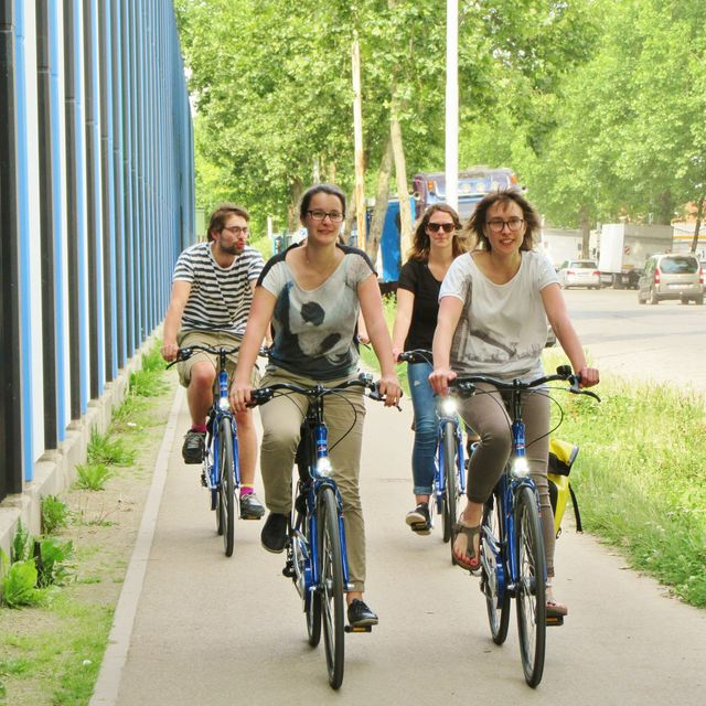 Brussels, secret and extraordinary by bike