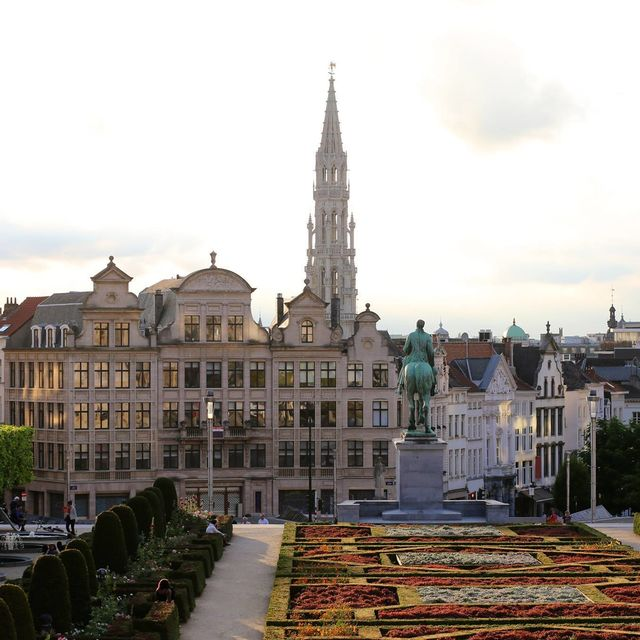 The story of Brussels for children