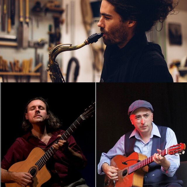 Cancelled: Nathan Daems Trio: Manouche, Rebetiko & more