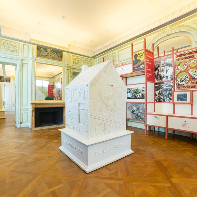 Understanding Belgium: permanent exhibition at BELvue museum! :: © BELvue/Philippe de Formanoir