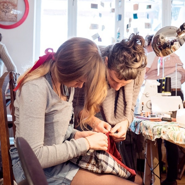 Cours Couture Upcycling trimestre / Vend. Matin