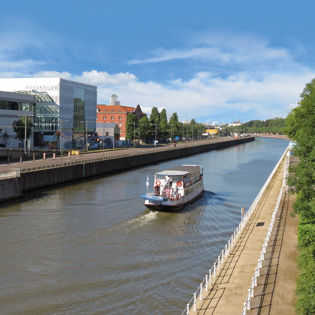 Cruise: Brussels and its surroundings by boat