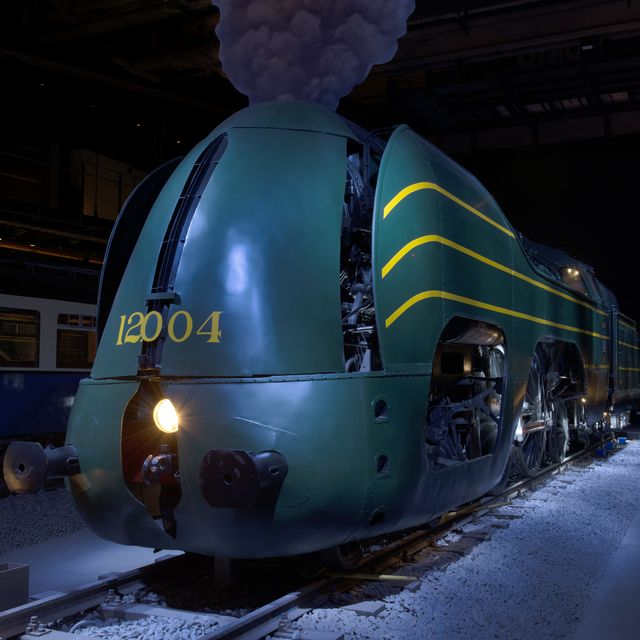 Discover the railway world of yesterday, today and tomorrow :: © SNCB/M.-F. Plissart