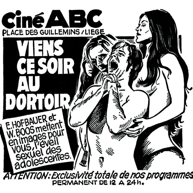 Double Bill : The ABC of Porn Cinema & Drama, the art of Laurent Durieux