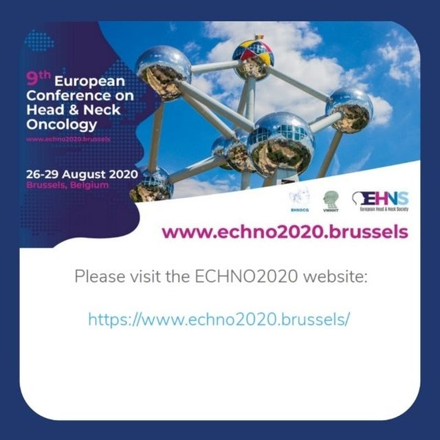 ECHNO 2020- European Congress on Head and Neck Oncology