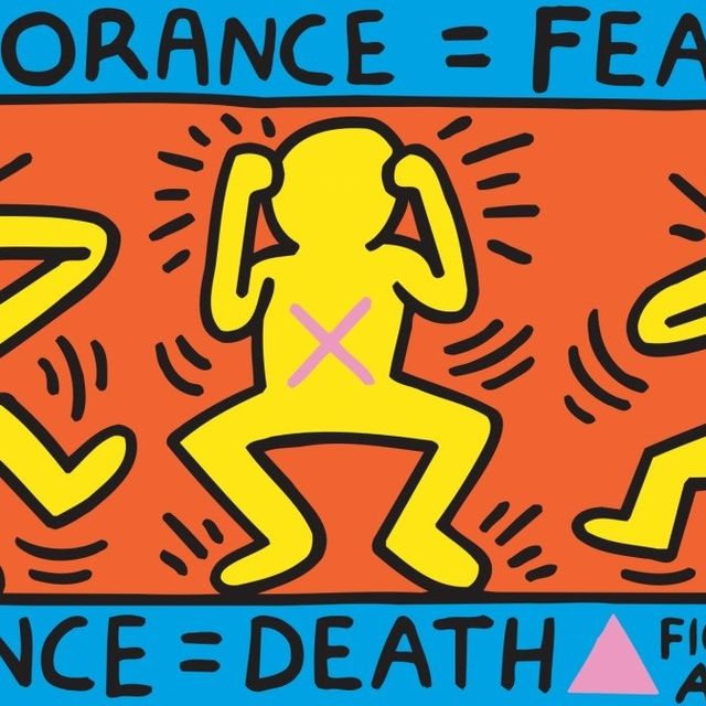 Keith Haring :: © Keith Haring artwork, Ignorance = Fear, 1989 © Keith Haring Foundation  Collection Noirmontartproduction, Paris