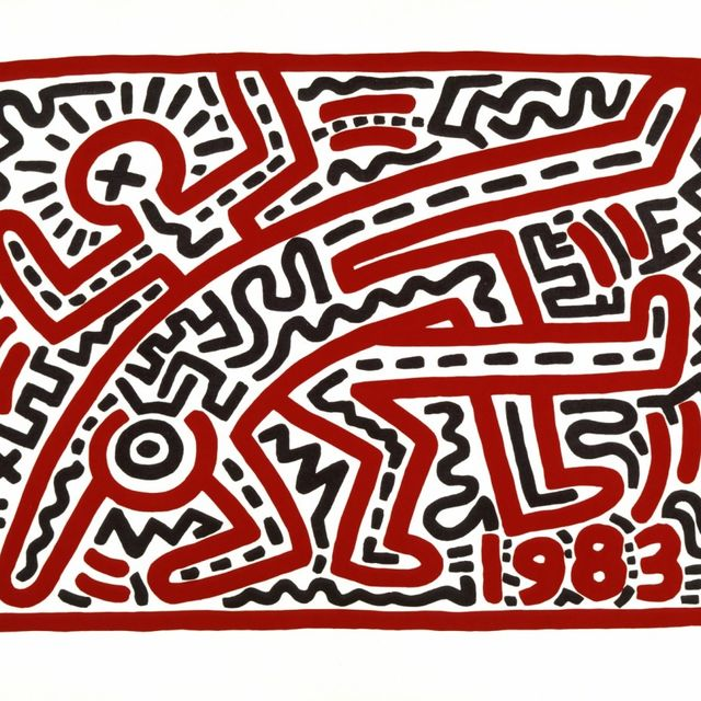 Keith Haring :: © Keith Haring, Untitled,1983 © Keith Haring Foundation
