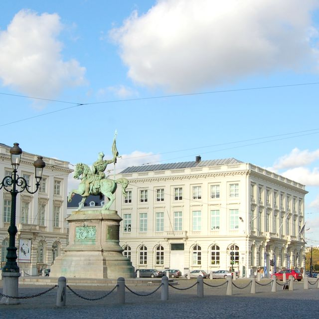 Place Royale and the Coudenberg Palace