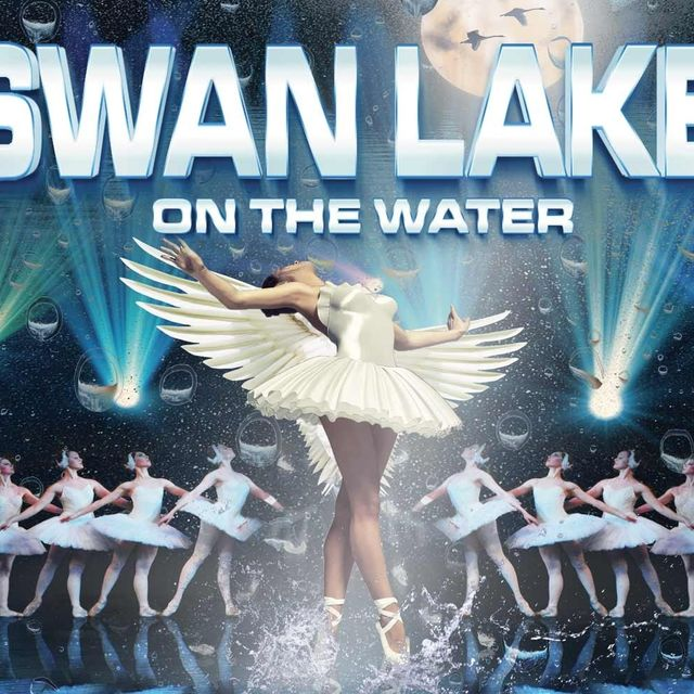 Swan Lake... on the water!