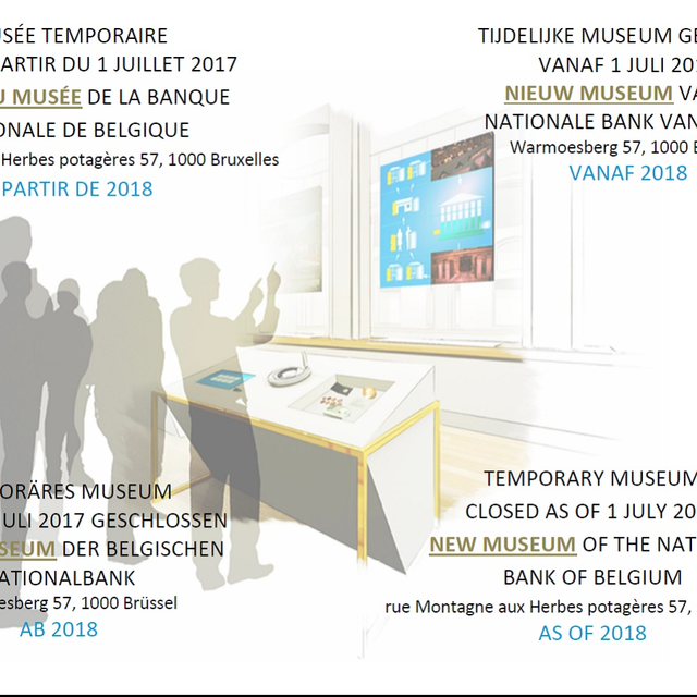 Get ready for the new Museum of the National Bank ! :: © Museum of the National Bank of Belgium
