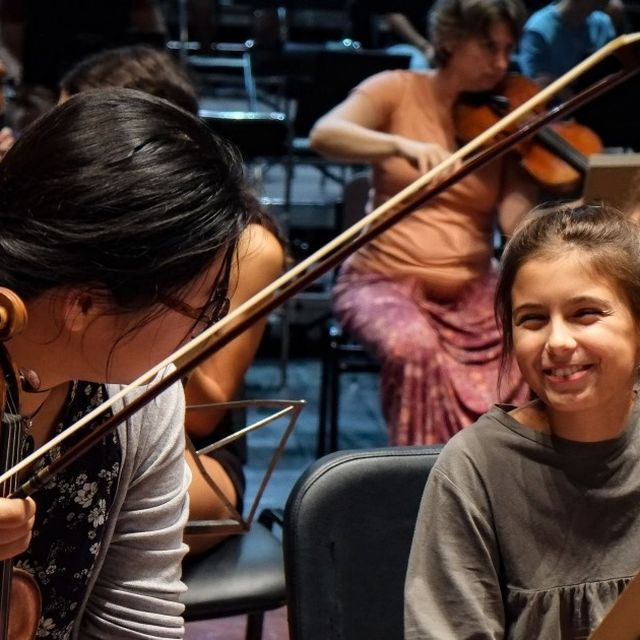 Royal Concertgebouw Orchestra Amsterdam YOUNG + Singing Molenbeek :: © Royal Concertgebouw Orchestra Amsterdam