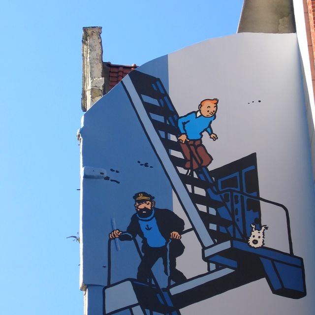 Tintin and Brussels